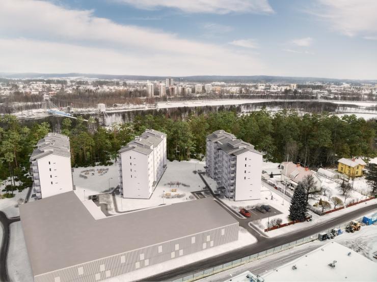 Finals Pärlbandet 2019-11-26 3D Nord Visualisering - 01 drönare - 01
